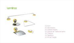 KIT P/WC LEMINOX ABS AM/CR C/5PC