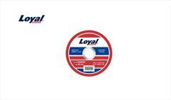 """DISCO LOYAL CORTE ACO INOX 1,0MM 4.1/2"""""""