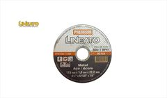 """DISCO LINEATO CORTE MET PRM 1,0X22MM 4,5"""""""