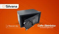 COFRE SILVANA SECRET ELETRONIC 25X25X35CM