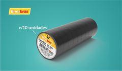 FITA ENERBRAS ISOLANTE 10M PR C/10