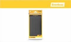 ABRAC ENERBRAS NYLON 3,5X200MM PR C/100