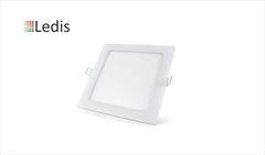 LUMIN LEDIS EMBUT LED QUAD 12W BIV 6400K
