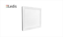 LUMIN LEDIS SOBREP LED QUAD 12W BIV 6400K