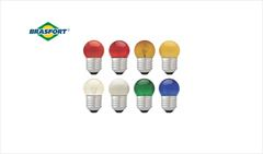LAMP BRASFORT BOLINHA 15W E-27 AZ 220V
