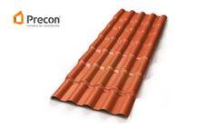 TELHA PRECON PVC CERAMICA 0,88X2,30M