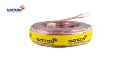 CORDAO NATICON BICOL 2X1,0MM 100M CRIST