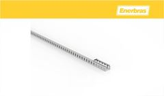 ENERBRAS CANALET SEM AB 20X20 2MT BR C/16