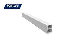 BARRA FORTLEV PLASTYLON PVC 20X30MM 6M