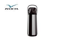 GARRAFA INVICTA TERM AIR POT INOX NEW 1L