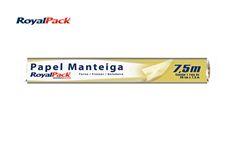 PAPEL ROYALPACK MANT ALIM 30CMX7,5M C/25