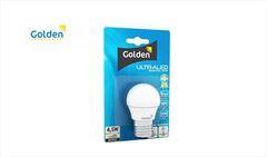 LAMP BOLINHA GOLDEN ULTRA LED 4,6W 6500K