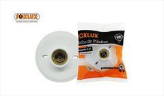 PLAFON FOXLUX PLAST C/SOQUET PORC E-27 BR