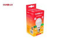 LAMP OUROLUX SUPER LED  9W 6500K BIV