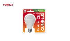 LAMP OUROLUX SUPER LED  6W 6500K BIV