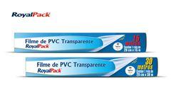 FILME ROYALPACK PVC TRANSP 28CMX15M C/12