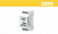 TEMPORIZADOR ENERBRAS DIGIT P/TRILHO 220V