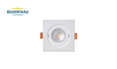 SPOT BLUMENAU LED  3W EMB QD ABS 6500K BR