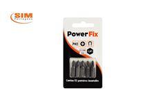 PONTEIRA POWER-FIX MAGNE PH2 1P 25MM C/5