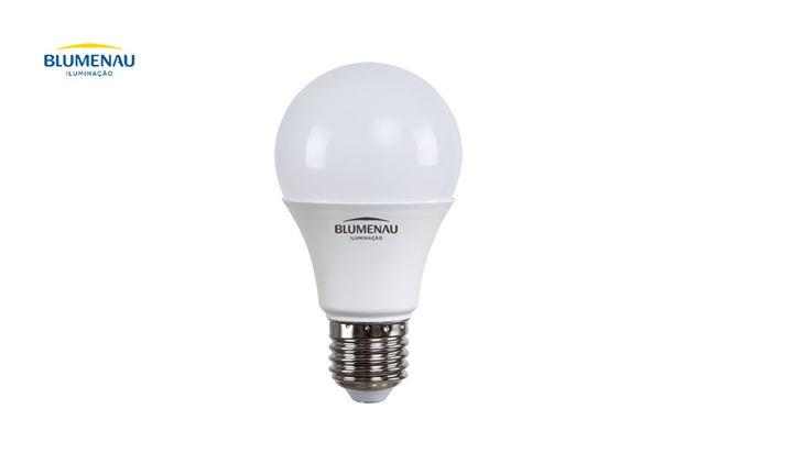 LAMP BLUMENAU LED  9W 6500K A60 E-27