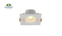 SPOT BLUMENAU LED 8W EMB QD ABS 6500K BR