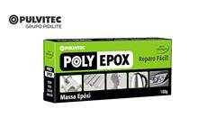 MASSA PULVITEC POLY EPOXI 100GR