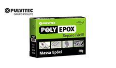 MASSA PULVITEC POLY EPOXI  50GR