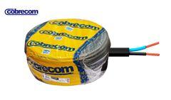 CABO COBRECOM PP FLEX 2X2,5MM 100M PR
