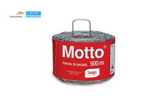 ARAME BELGO FARPADO MOTTO C/500M