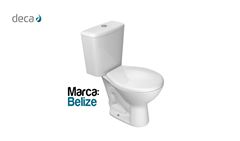 DECA BACIA+CX ACOPL BELIZE AC SIMP BR