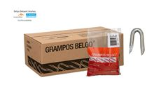 "GRAMPO P/CERCA BELGO 16X10 (7/8""X12) POL"