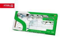 KIT P/WC STEEL/TWISTER ABS CR C/6PC
