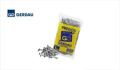 """PREGO GERDAU C/CAB  8X7 (5/8""""X18) POL"""