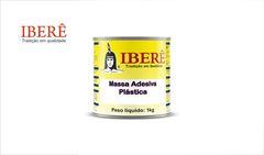 MASSA IBERE PLASTICA BRANCA 1KG