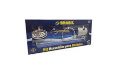 KIT P/WC BRASIL JR METAL CR C/5PC