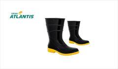 BOTA ATLANTIS PVC S/F CANO MED PR/AM N°43